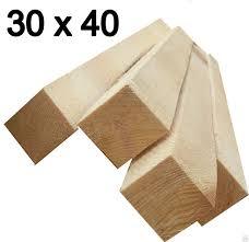 Брусок (сосна) 30 х 40 х 3000